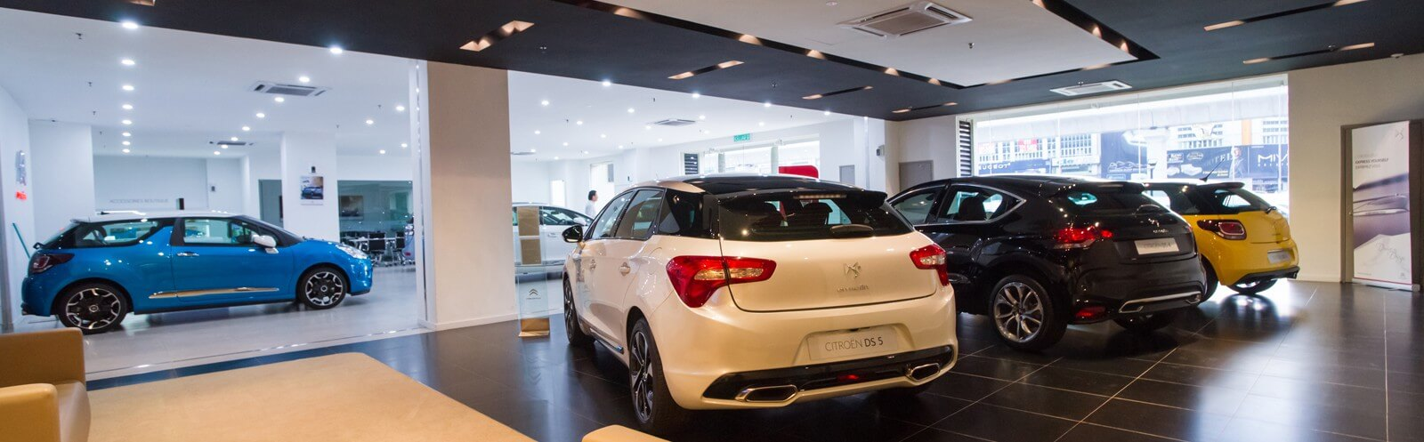 Car Showroom / Servce Centre Design Renovation