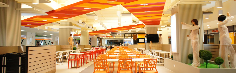 Malaysia restaurant renovation food court interior design
